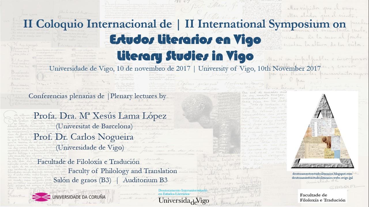 Doutoramento Interuniversitario en Estudos Literarios